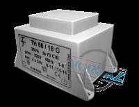 Фото Малогабаритный трансформатор для печатных плат ТН 66/18 G
