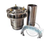 Уплотнительные устройства с самоцентрирующейся сальниковой коробкой для конденсатных насосов Кс, КсД, КсВ и КсВА