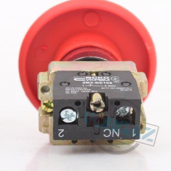 АСКО-УКРЕМ XB2-BR42 кнопка «грибок» (d 60 мм) «СТОП» красная - фото 3