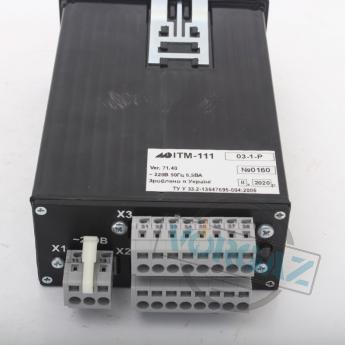Индикатор одноканальный цифровой ИТМ-111(В) - фото №2