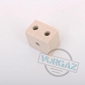 Керамические термостойкие клеммные колодки 2х2,5 - фото 3