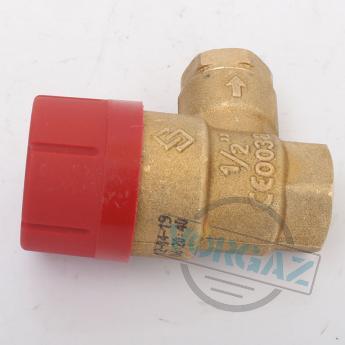 Prescor клапан предохранительный 3 bar 1-2 резьбовой - фото №3